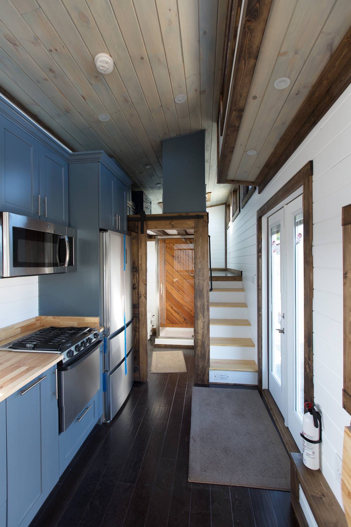 Full build services from an rvia certified tiny house for The lookout tiny house