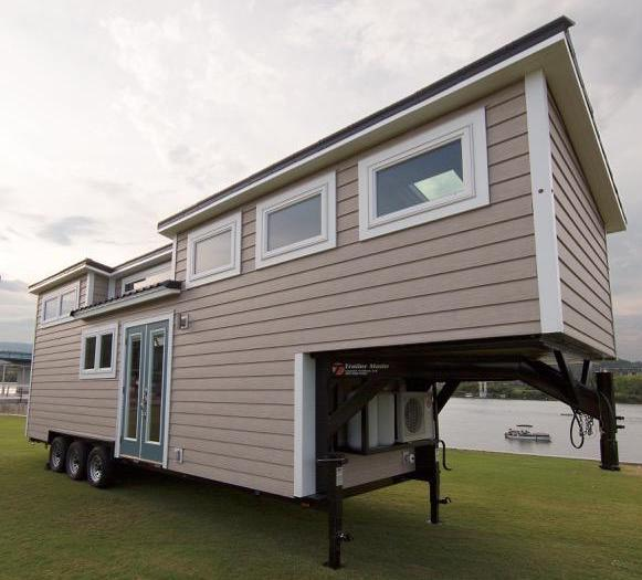 Steel Frame & Trailer Kit // The Lookout | Tiny House Chattanooga