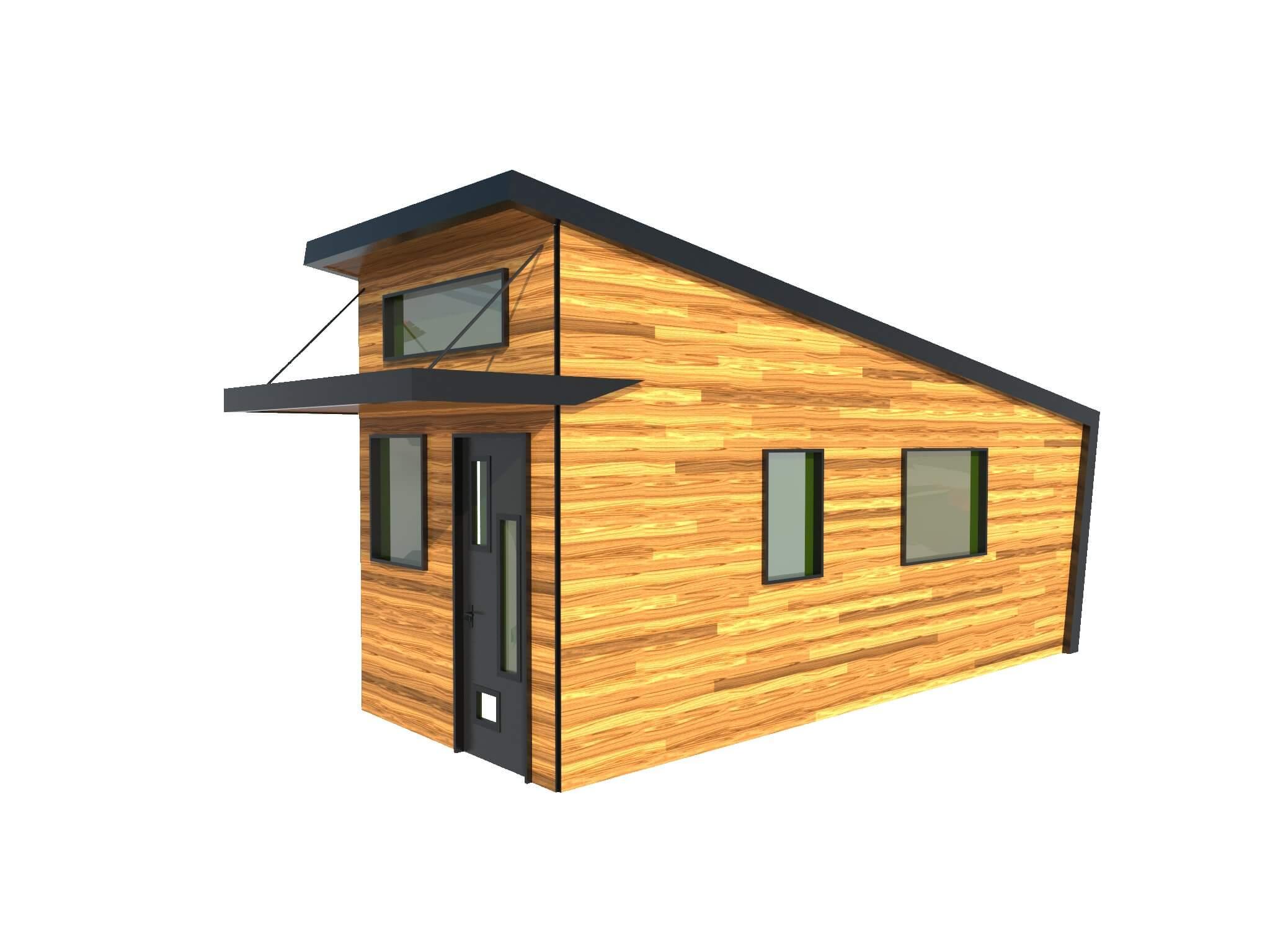 12x40 Cabin Floor Plans